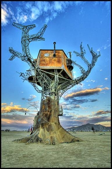 Steam Tree House