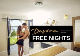 Free Nights at Desire Resort for Referring Friends