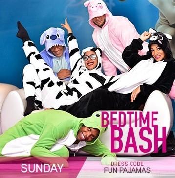 Temptation Resort Theme Night Sunday Bedtime Bash Fun Pajamas