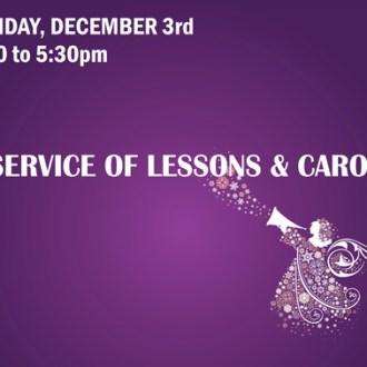 Lessons, Carols, and Adoration