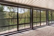 Adjustable Vinyl WeatherMaster windows are easily stackable for more ventilation.