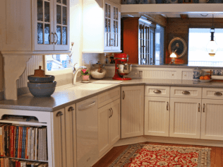 Country Kitchen Remodeling Project - kitchen-from-entry-hall-640x480_c