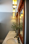 Craftsman Style Master Bath Remodel in Elkhorn - moon-lights-and-mirror-side9