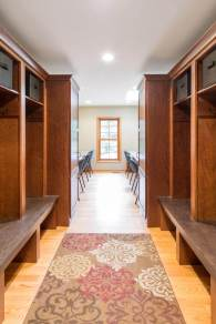 Mudroom remodel keeps this space organized.