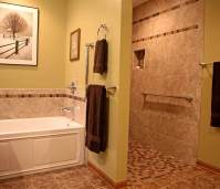 Remodeling for Wheelchair Accessibility - koons-shower-and-tub-wall