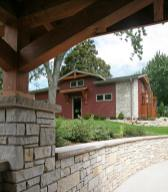 Stunning Portico Transformation Project on Booth Lake - garage-steb-cool-veiw-of-garage