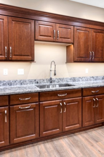 Cabinets, Countertop, Sink