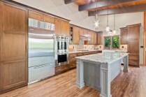Cabinet, Refrigerator, Island, Sink, Microwave, Countertop