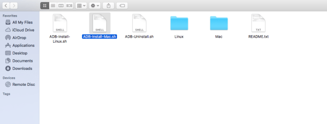 install adb and fastboot on mac os