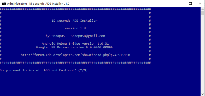 setup adb and fastboot driver on windows