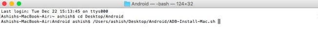 adb and fastboot mac