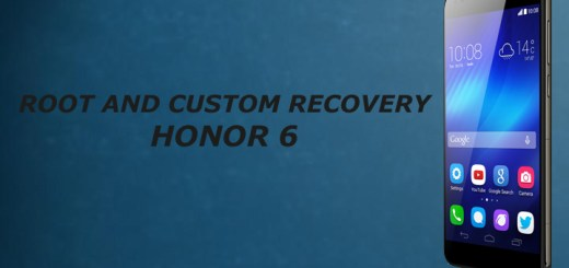 Root and install custom recovery on honor 6