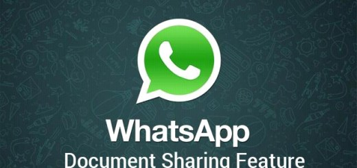 Whatsapp document sharing feature
