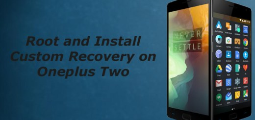 Root oneplus two and install custom recovery