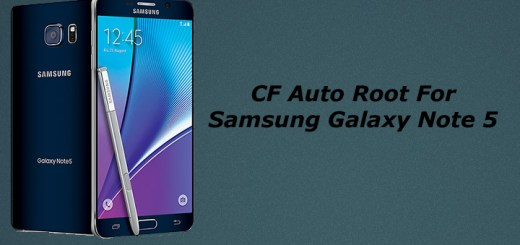 Root Samsung Galaxy Note 5 With CF Auto Root