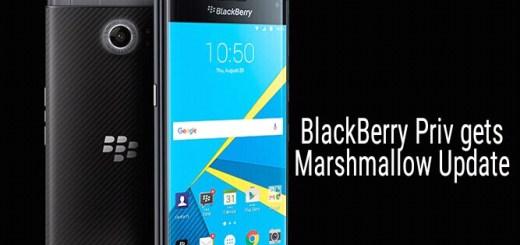 Marshmallow update for BlackBerry PRIV