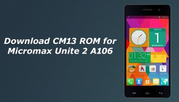 Download CM13 ROM for Micromax A311/A310