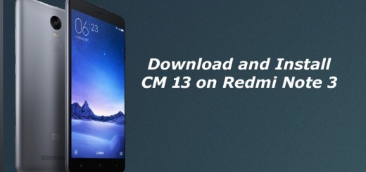 Download and Install CM13 ROM for Xiaomi Redmi Note 3