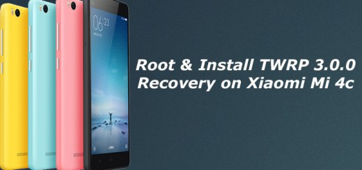 Root and Install TWRP Recovery on Xiaomi Mi 4c