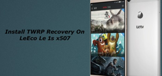 Install TWRP Recovery on Leeco Le 1s