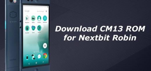 Download CM13 ROM for Nextbit Robin