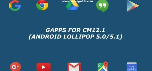 Download Gapps for cm12.1