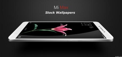 Xiaomi Mi Max Stock Wallpapers