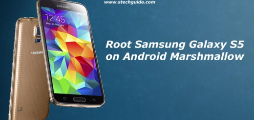 Root Samsung Galaxy S5 on Android Marshmallow