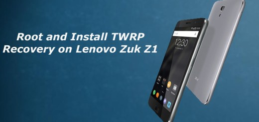 Root and Install TWRP Recovery on Lenovo Zuk Z1