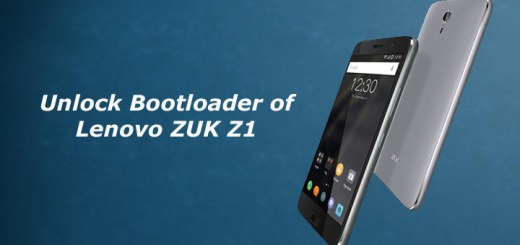 Unlock Bootloader of Lenovo ZUK Z1