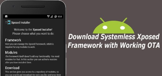 Download Systemless Xposed Framework with Working OTA