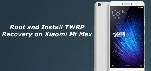 Root and Install TWRP Recovery on Xiaomi Mi Max