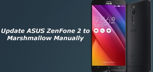 Update ASUS ZenFone 2 to Marshmallow Manually