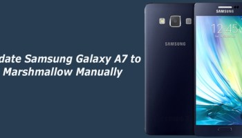 How to Update Samsung Galaxy J7 to Marshmallow Manually