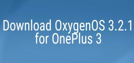 OxygenOS 3.2.1 for OnePlus 3