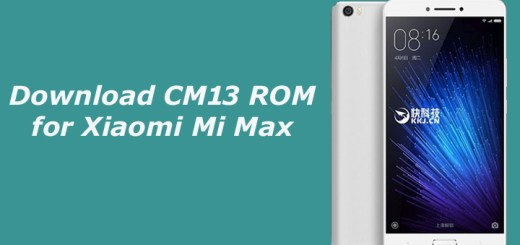 Download CM13 ROM for Xiaomi Mi Max