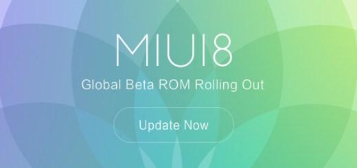 Download MIUI 8 Global Beta ROM