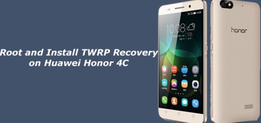 Root and Install TWRP Recovery on Huawei Honor 4C