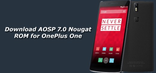 Download AOSP 7.0 Nougat ROM for OnePlus One