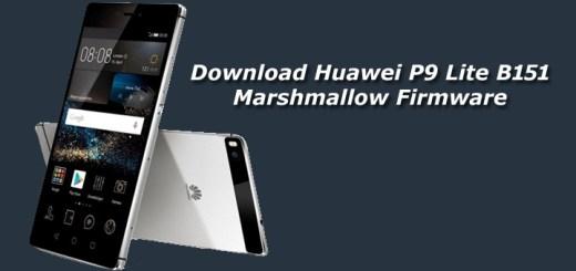 Download Huawei P9 Lite B151 Marshmallow Firmware