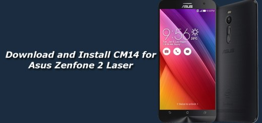 Download and Install Unofficial CM14 for Asus Zenfone 2 Laser