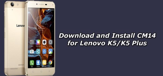 Download and Install Unofficial CM14 for Lenovo K5/K5 Plus