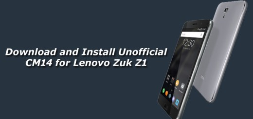 Download and Install Unofficial CM14 for Lenovo Zuk Z1