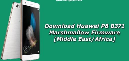 Download Huawei P8 B371 Marshmallow Firmware