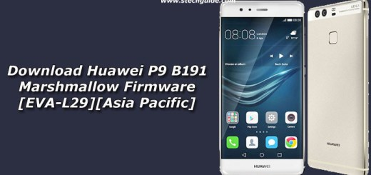 Download Huawei P9 B191 Marshmallow Firmware [EVA-L29][Asia Pacific]