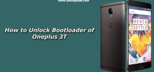 How to Unlock Bootloader of Oneplus 3T