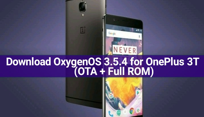 OxygenOS 3.5.4 for OnePlus 3T