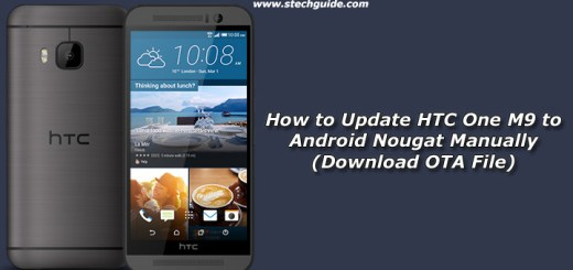How to Update HTC One M9 to Android Nougat Manually
