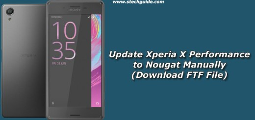 How to Update Xperia X Performance to Nougat Manually (Download FTF File)