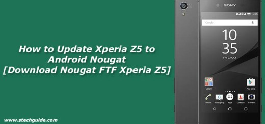 Update Xperia Z5 to Android Nougat [Download Nougat FTF Xperia Z5]